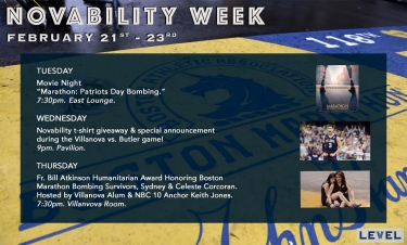 Villanova University's Office of Disability Services Presents 2017 Father Bill Atkinson Humanitarian Award to Boston Marathon Bombing Survivors Celeste and Sydney Corcoran