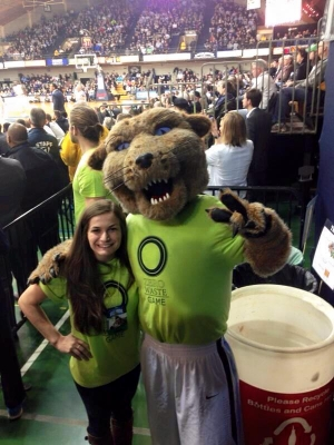 Villanova University Reaches Sustainability Goal at Zero Waste Men's Basketball Game