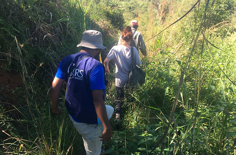 A group of Villanova University students spent the summer in Madagascar working with CRS.