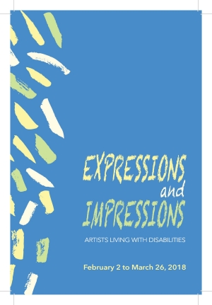 """Expressions and Impressions: Artists Living with Disabilities"""
