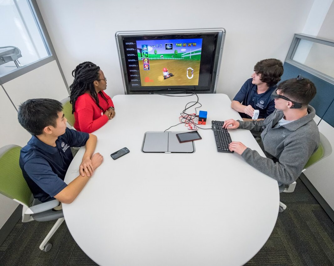 Villanova Engineering Students Turn Mario Kart into Tool to Improve Focus of Children with Attention-Deficit Disorders
