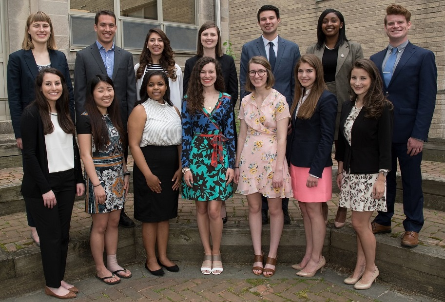 Villanova University's 2018-19 Fulbright U.S. Student Grant Recipients—