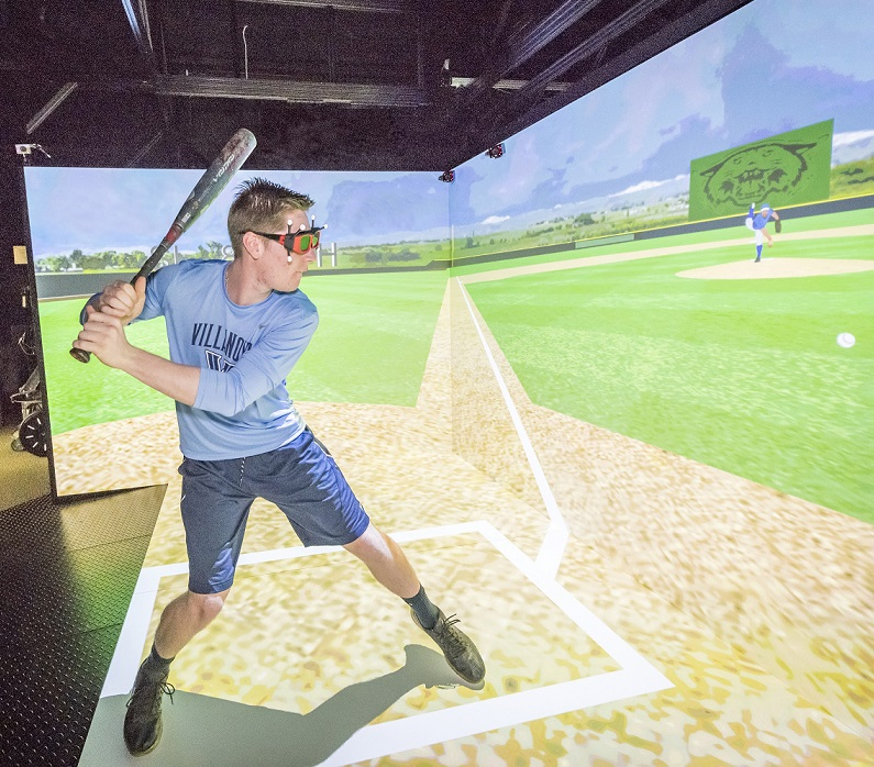 Villanova Engineering Professor Develops Virtual Reality Baseball Training Environment