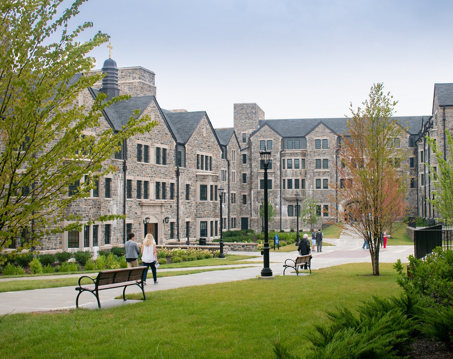 Villanova University celebrates the opening of its newest living and learning community, The Commons.