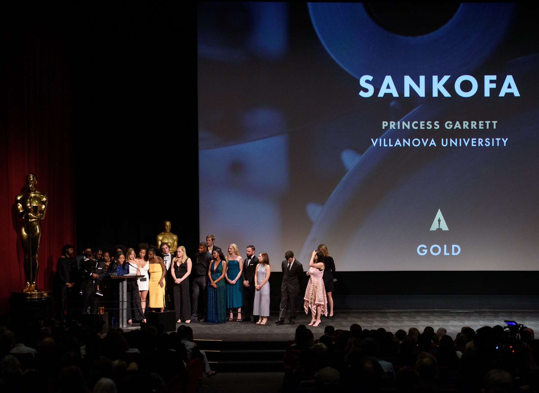 Villanova Social Justice Documentary, Sankofa, Takes Home Gold Medal at Student Academy Awards