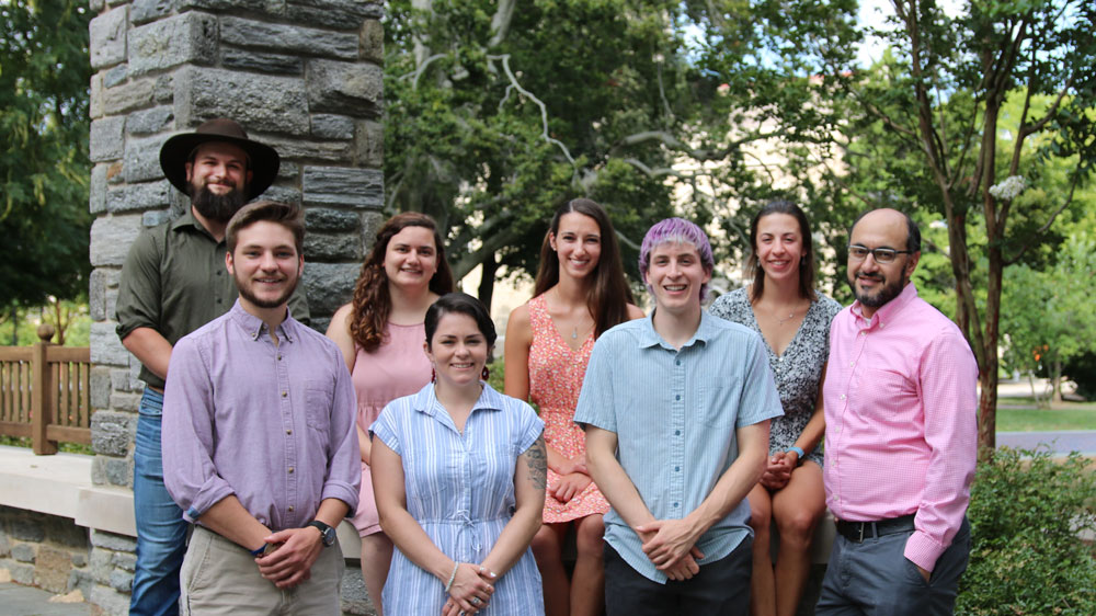 Campus Ministry Intern Group Picture