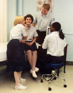 Nursing students, 1999.