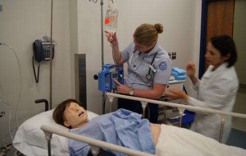 Obstetric simulation