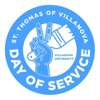 st thomas of villanova day of service logo