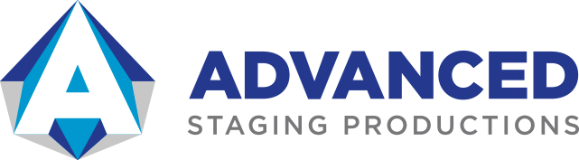 advanced staging productions logo