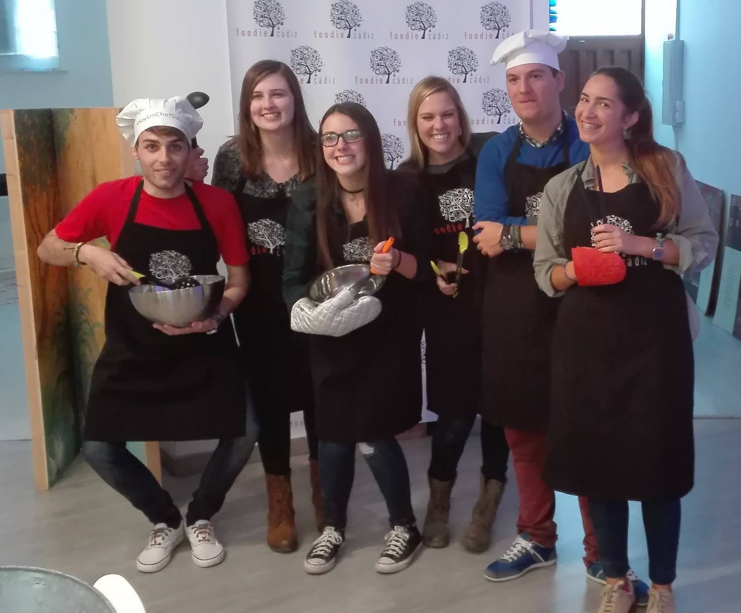 Cooking class with Spanish partners