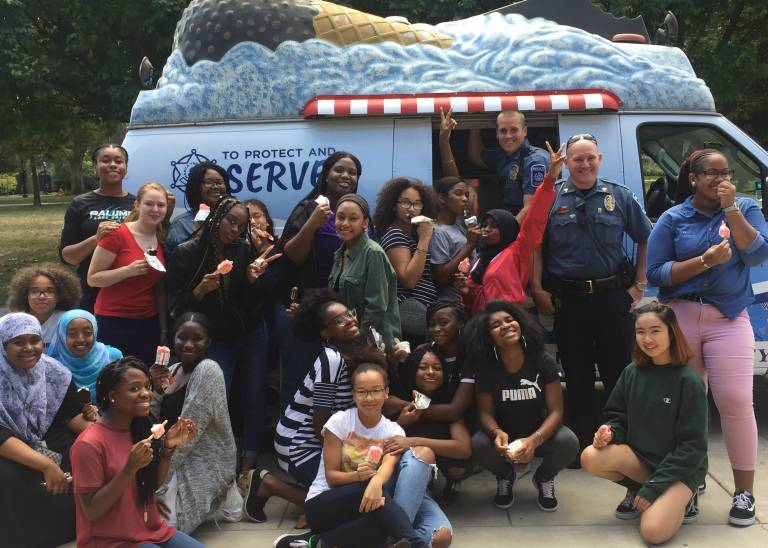 Ice Cream Day with Public Safety