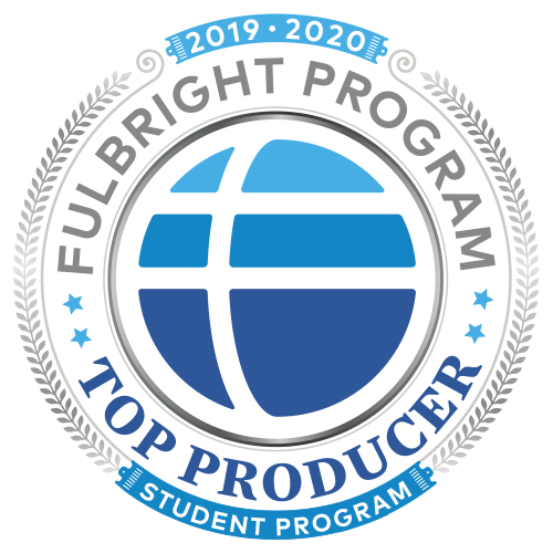 Fulbright award logo 2016-2017
