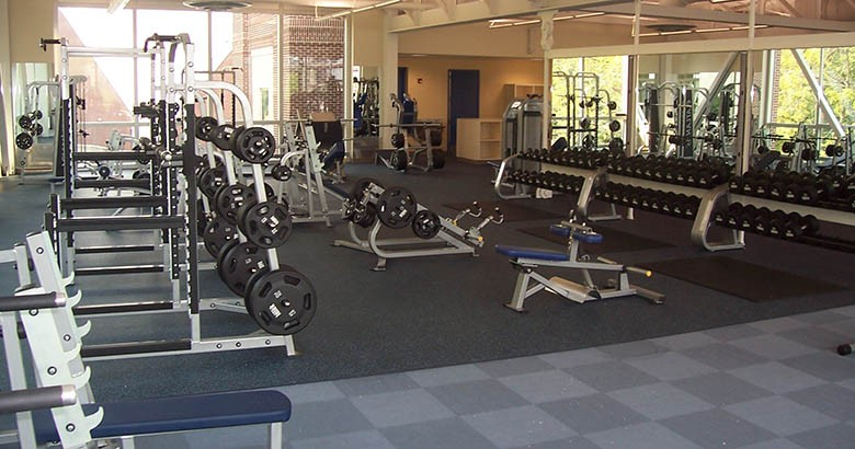 image of treadmills from Davis Center
