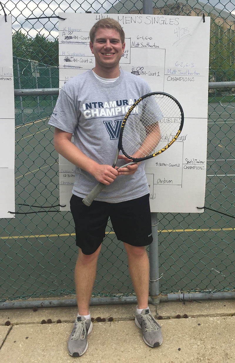 Men's Singles Champion - M. Southerton