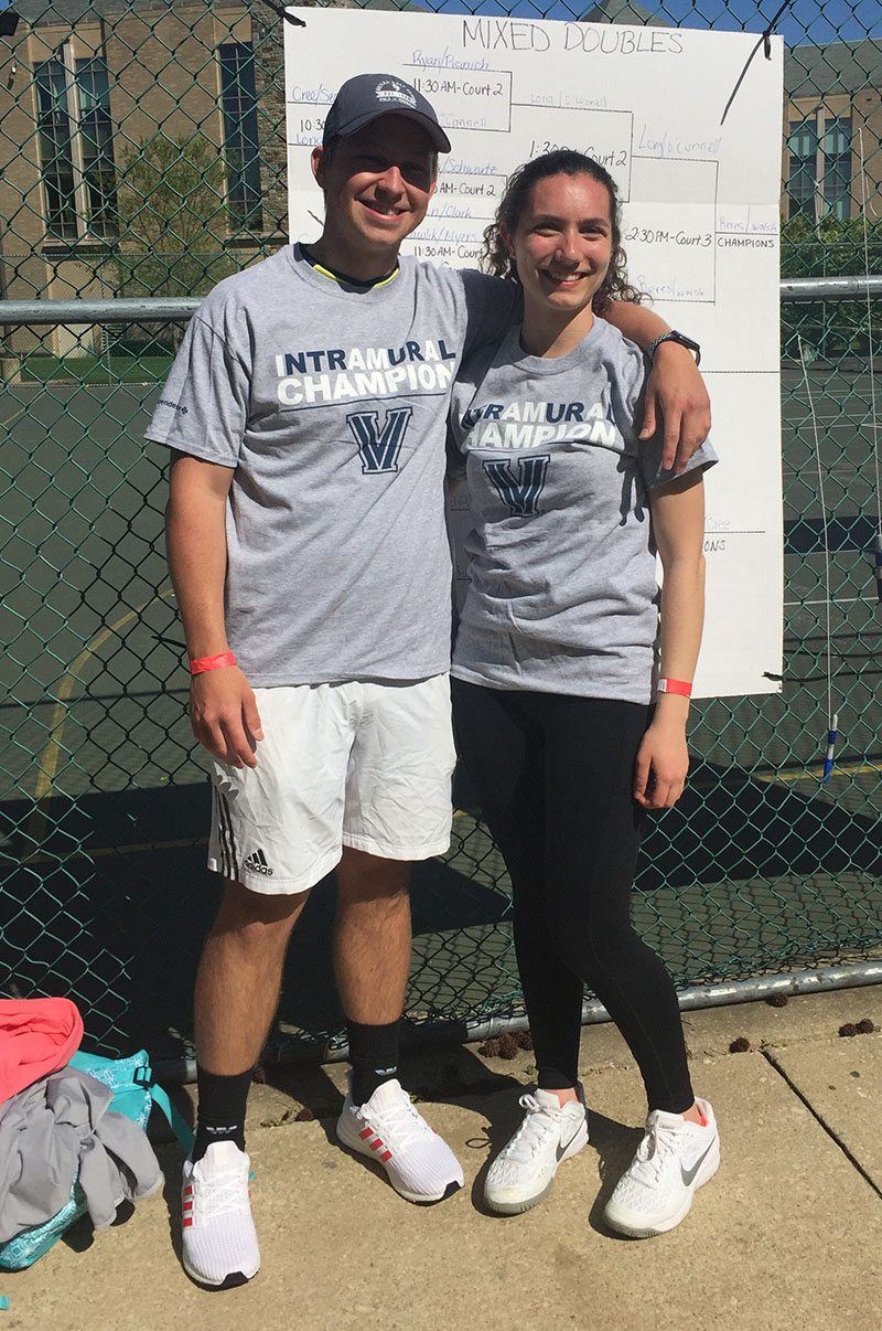 Mixed Doubles Champions - Reres/Walsh
