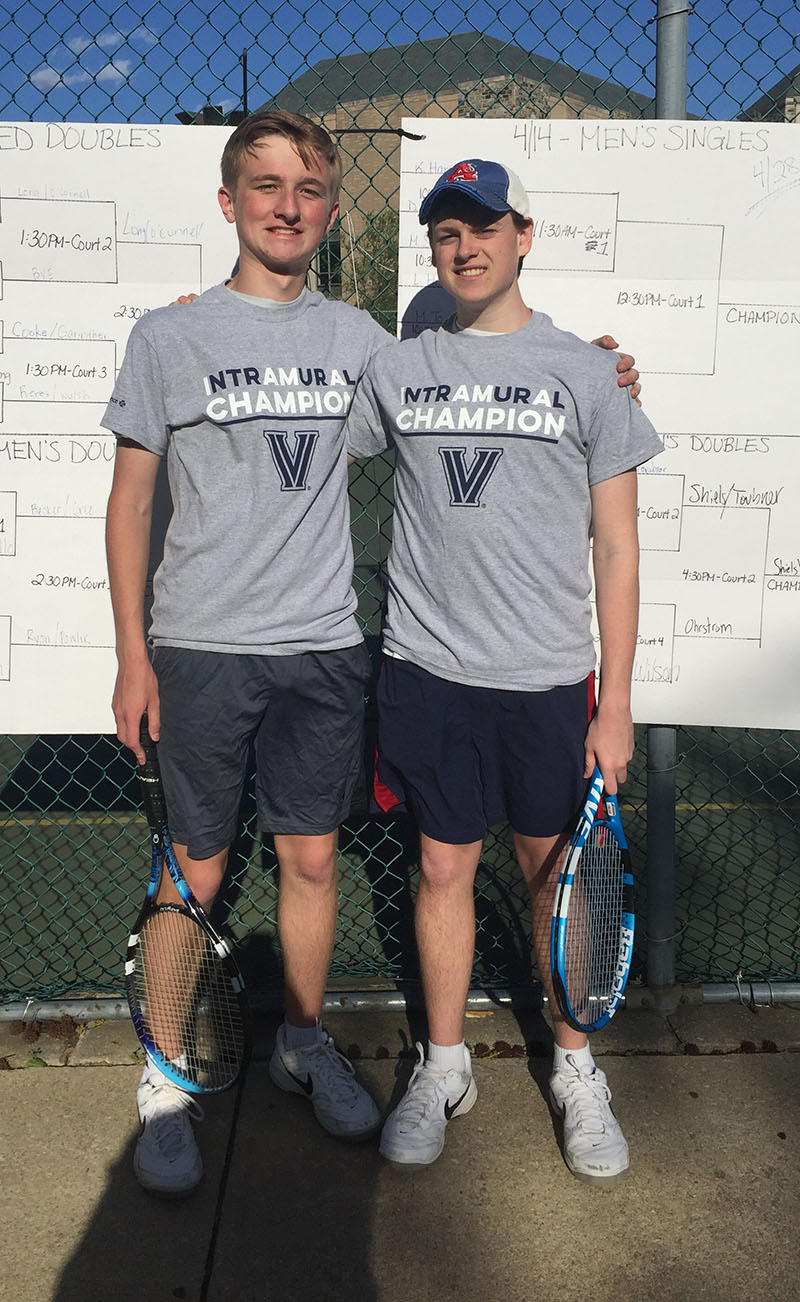 Men's Doubles Champions - Shiels/Taubner