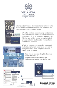 Villanova University Graphic Services