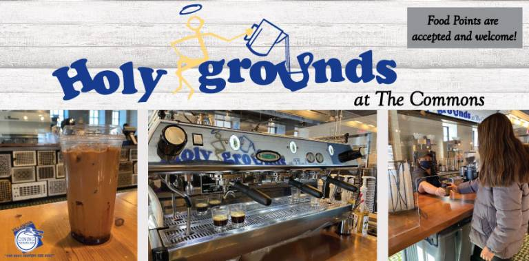 Holy Grounds at The Commons Now Open