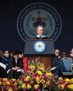 Michael R. Bloomberg speaking at Commencement