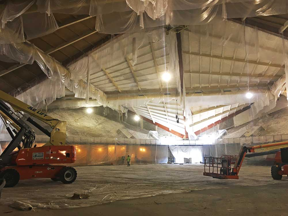 A look inside the Finneran Pavilion
