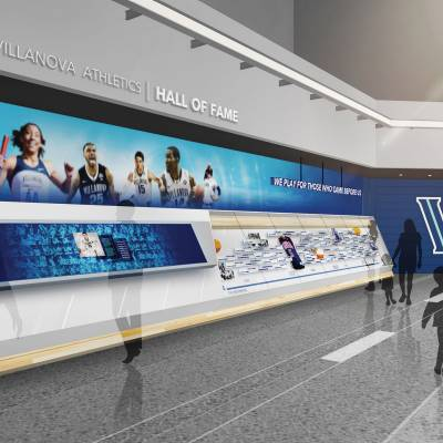 Image rendering of a new hall of fame exhibit