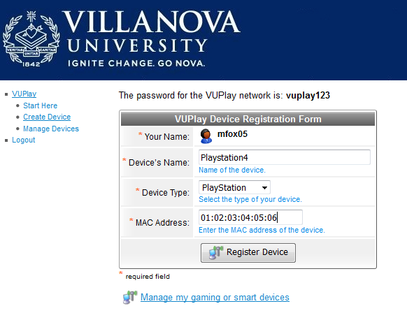 VU Play | Villanova University