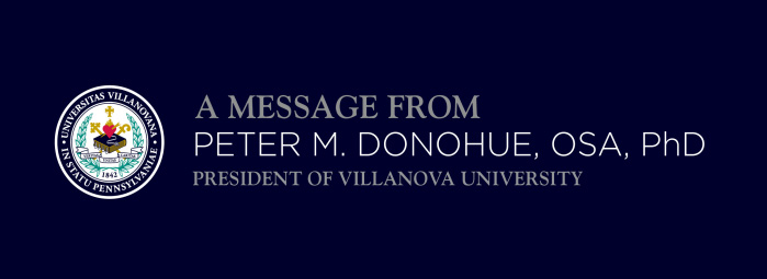 A Message From Father Donohue