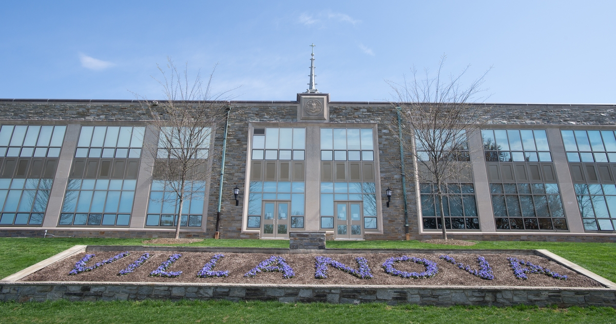 Front of Dougherty Hall