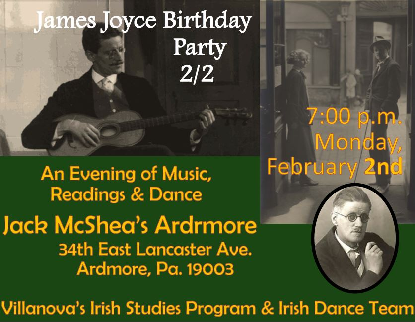James Joyce Birthday Celebration
