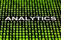 image of the word analytics