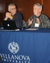 Dr. Christopher Pastore and Richard Thompson discuss the pros and cons of solar energy.