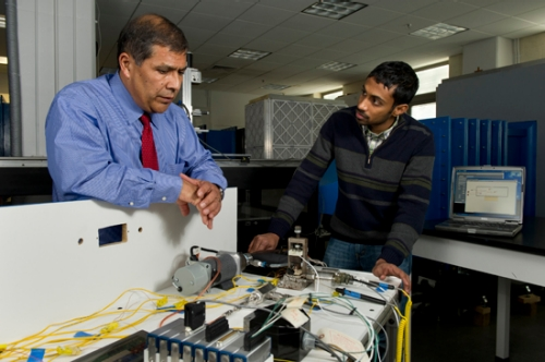 "Dr. Alfonso Ortega, Associate Dean for Graduate Studies and Research and the James R. Birle Professor of Energy Technology, will lead a team of Mechanical Engineering faculty members who seek to make data centers ""greener."""