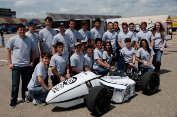 NovaRacing Team Prepares for Annual Formula SAE Competition