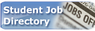 Student Job Directory button