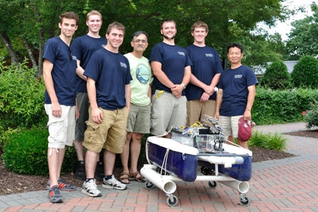 Villanova engineers with SeaCat