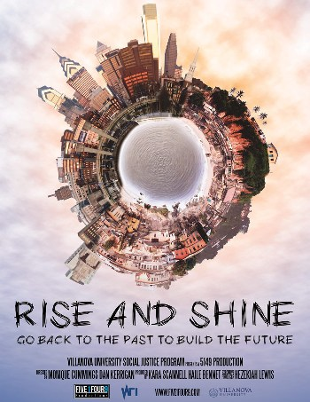 """Rise and Shine"" poster"