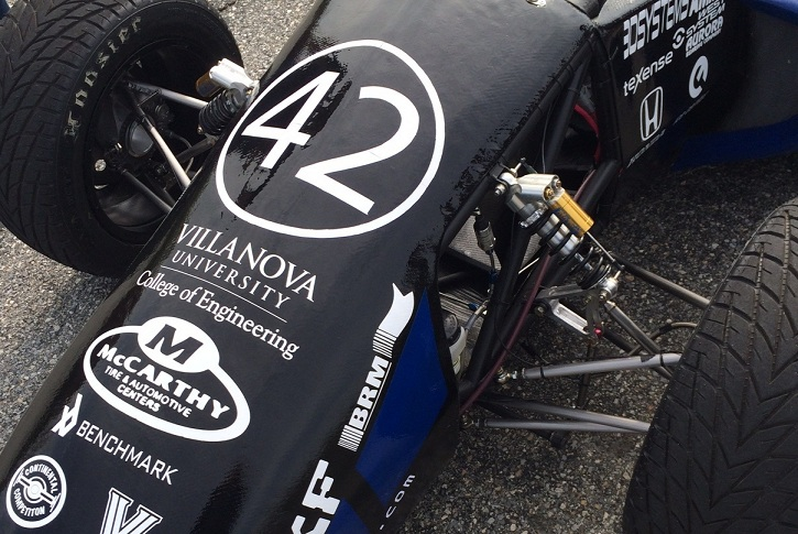 NovaRacing prepares for 2014 Formula SAE competition.