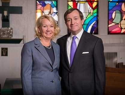 A $10 million gift from Terence (Terry) O'Toole '80, and his wife, Paula (Polly), has established the O'Toole Family Presidential Scholarship Program at Villanova University