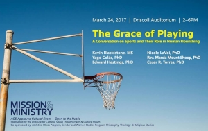 The Grace of Playing: A Conversation on Sports and Their Role in Human Flourishing