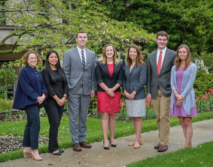 Villanova Fulbright Scholarship recipients