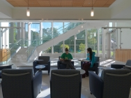Driscoll Hall ground floor lobby