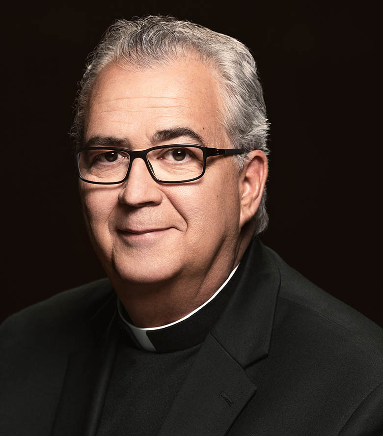image of Rev. Peter M. Donohue, OSA, PhD