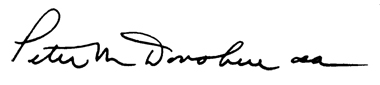image of president's signature