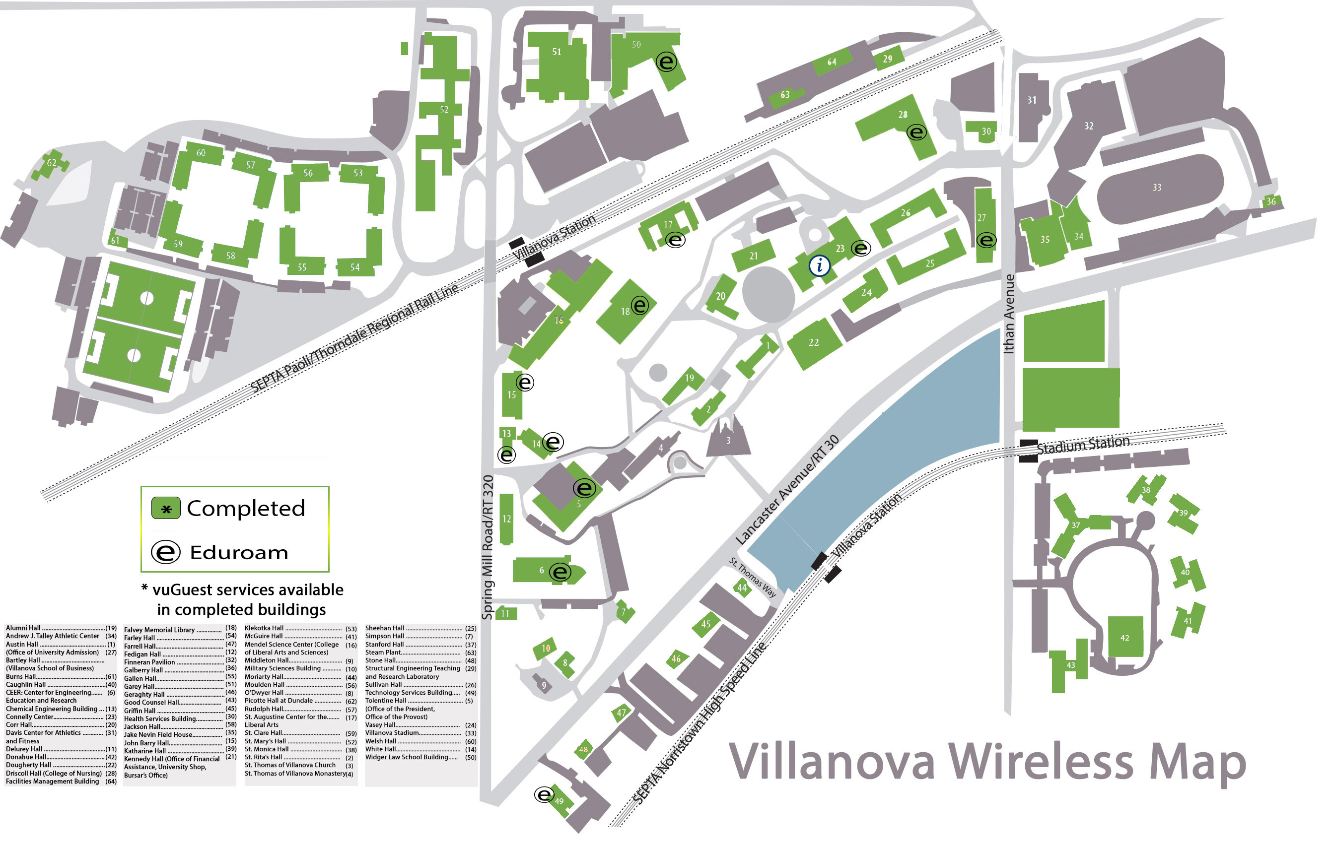 Wireless Expansion & Coverage | Villanova University